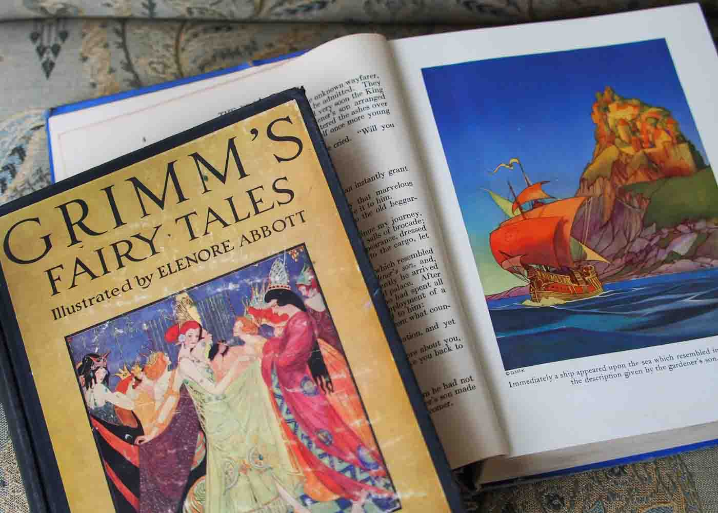 Vintage editions of fairy tale classics can make wonderful baby shower gifts.