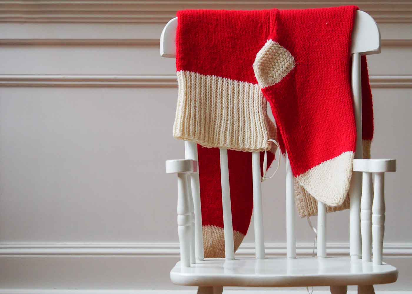 Know how to knit? Think of all the great gifts you can make - from booties, to Christmas stockings.