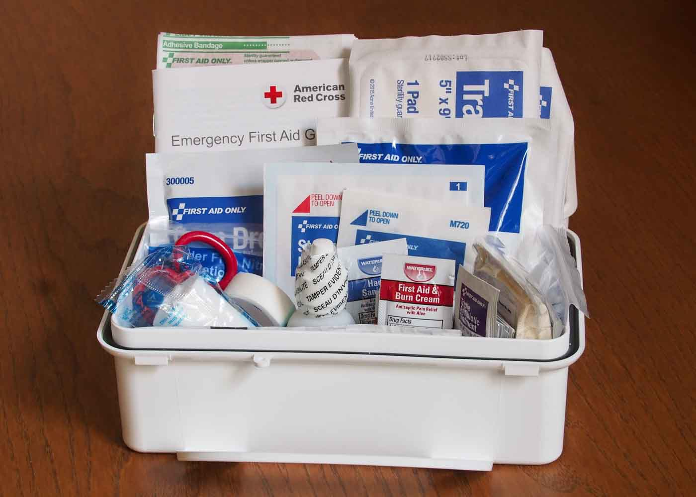 A First Aid kit is an eminently practical housewarming gift.