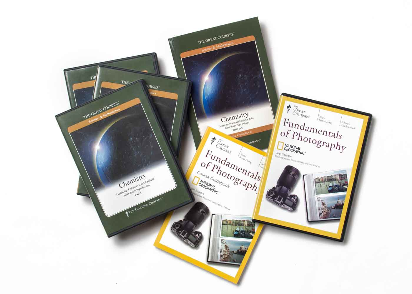 Give the gift of learning - either online or in DVD format - with a little help from The Great Courses.