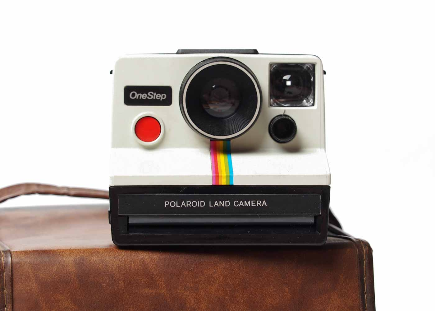 A vintage Polaroid OneStep found on Ebay - a fun gift for a photographer!