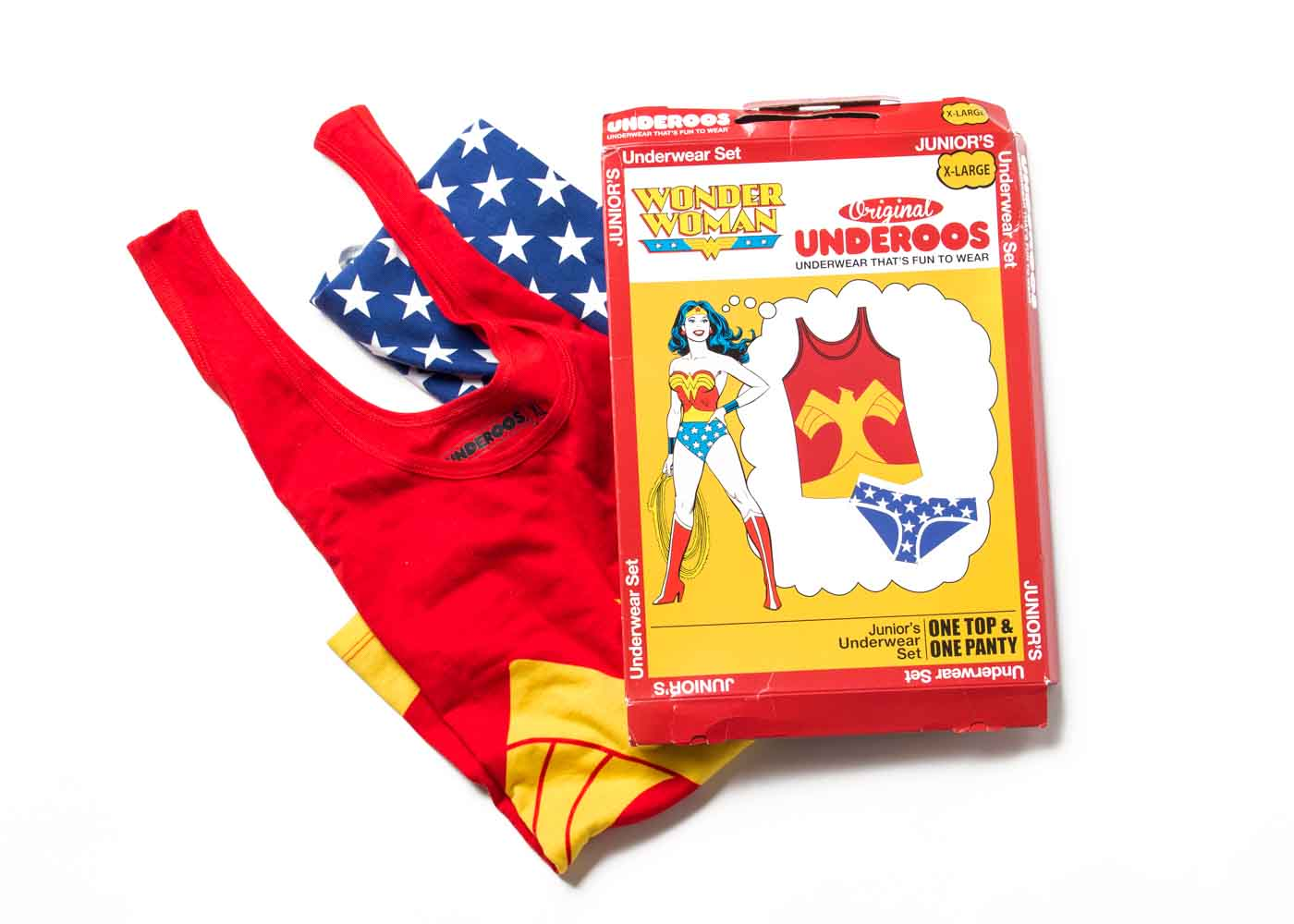 Underoos for adults - they're a thing - the perfect thing for the superhero in your life!