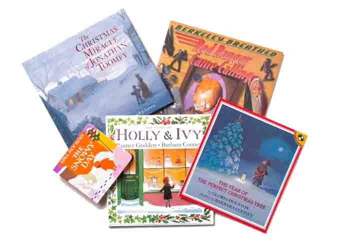 Five of ten: favorite children's books for Christmas.