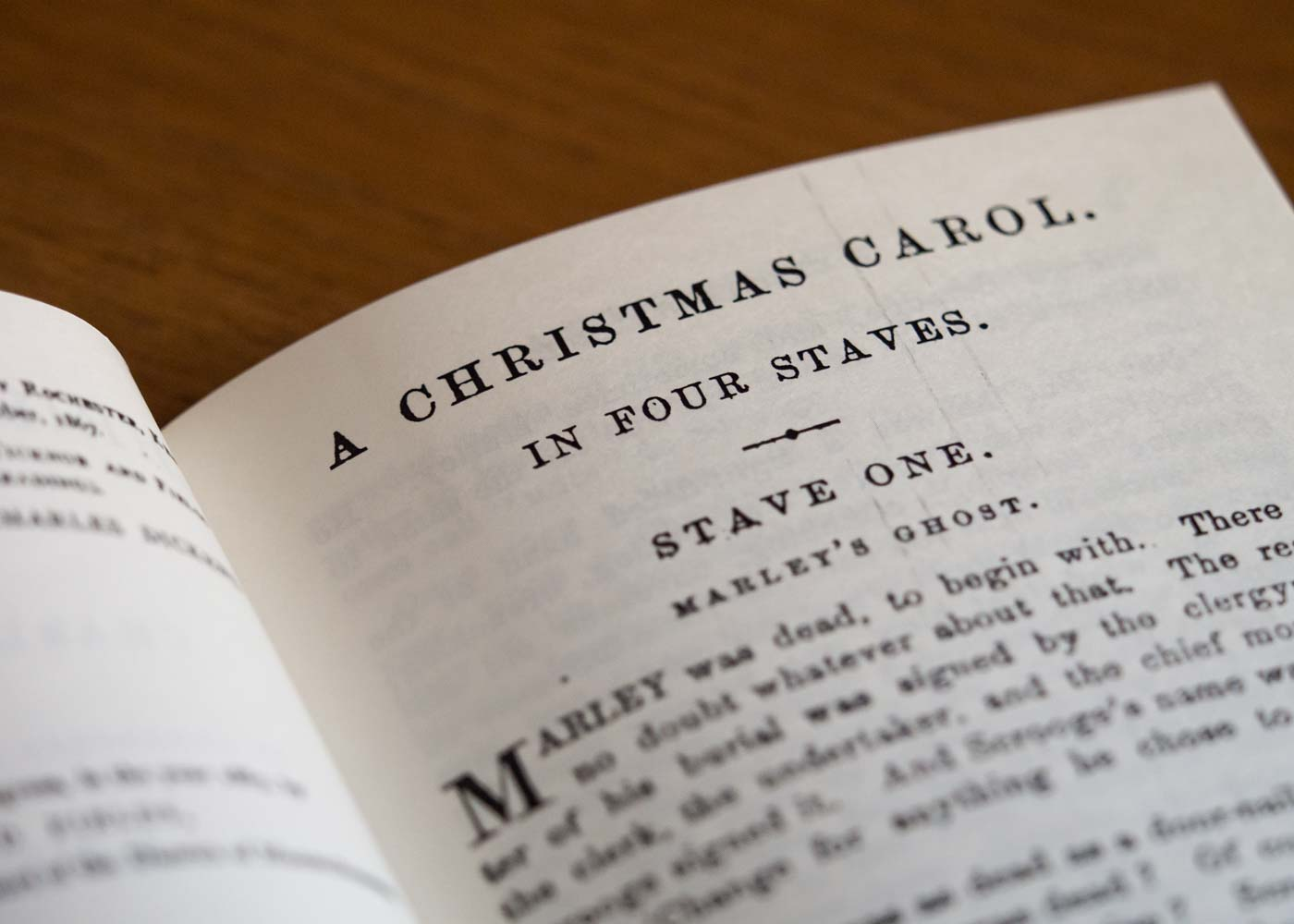 Reprints of Dickens' condensed version of his classic Christmas tale are available from India.