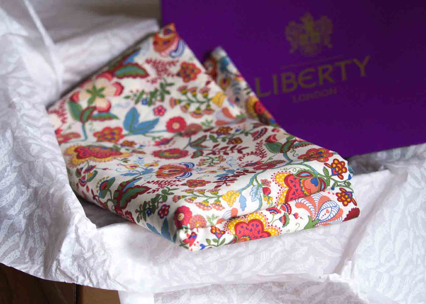 Fabric from Liberty of London: a lovely gift for the needle wielding genius in your life.