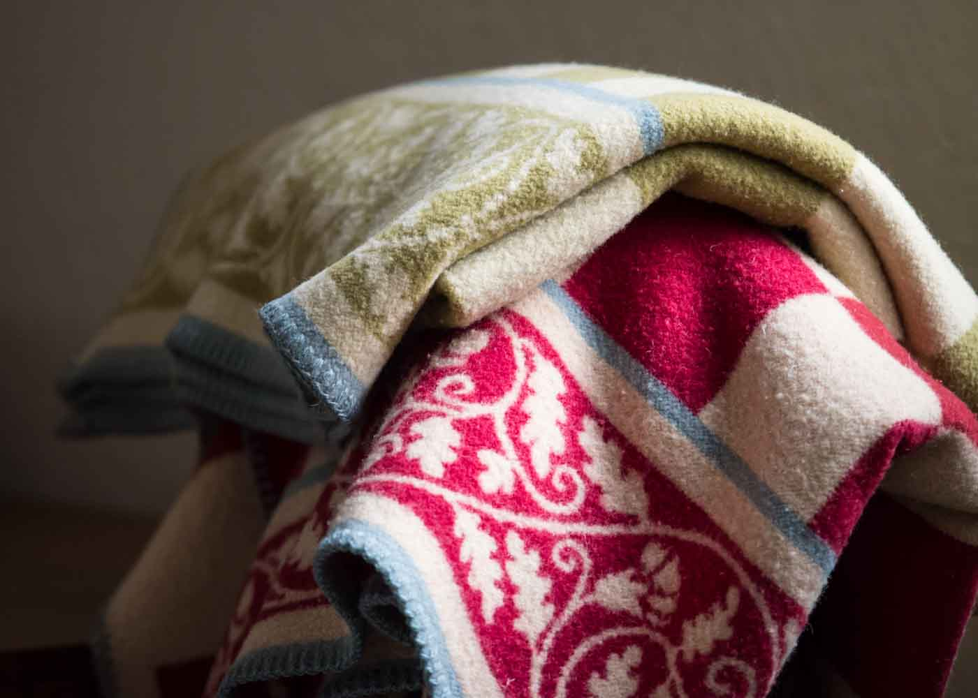 Oleana wool blankets are an eminently cozy, long-lasting gift.