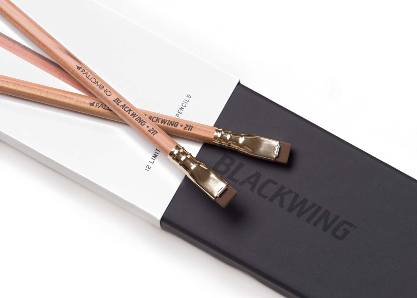 Blackwing pencils are mighty fine writing instruments (and those erasers are pretty swell too!).