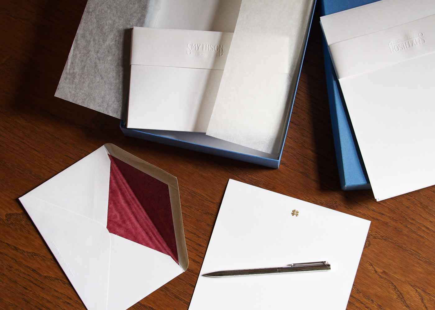 High quality stationery can be a great gift for a regular letter writer.
