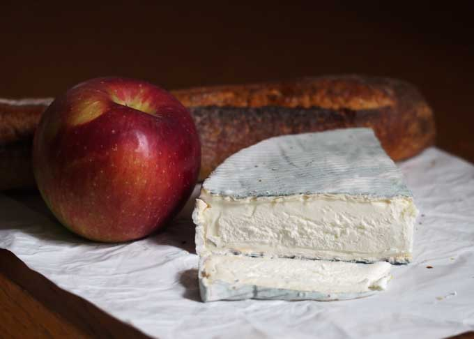 Treating ourselves to Brothers' Walk, Ruggles Hill Creamery's delicious goat milk Brie.