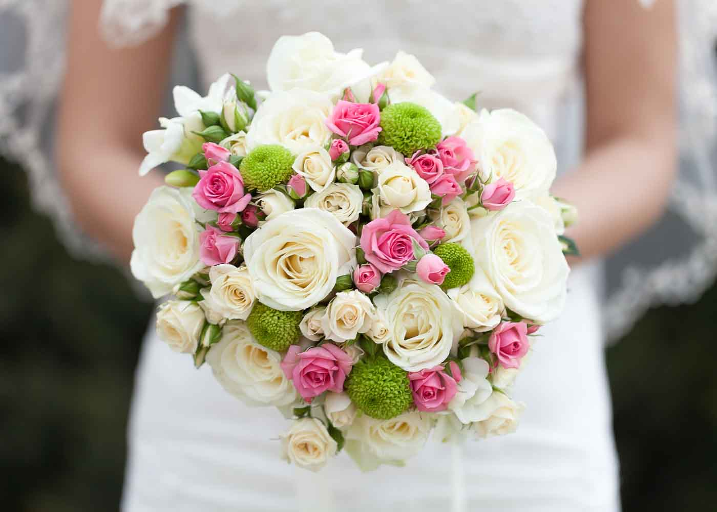 Preserve the bride's bouquet in one of several ways.