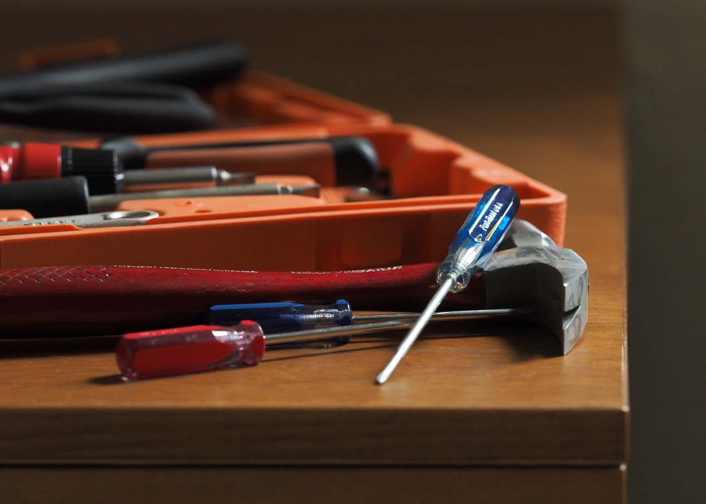 An eminently practical wedding gift: the tools and know-how to take care of basic home repairs.