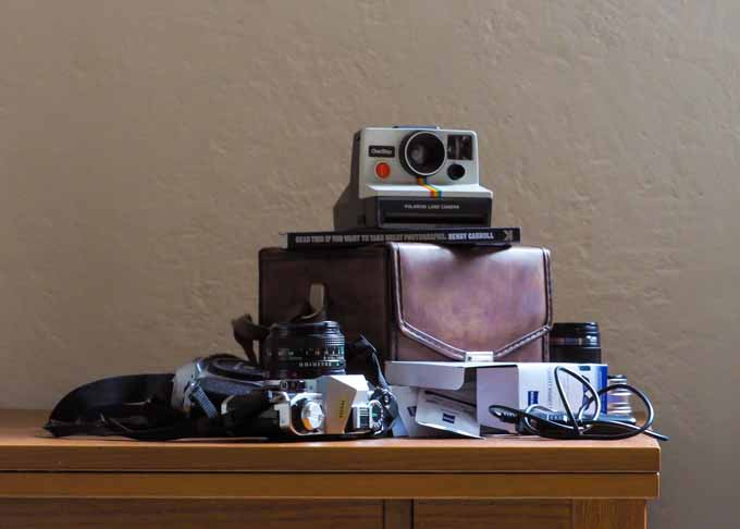 A few of our gift ideas for the photographer in your life - from vintage cameras, to lens wipes.