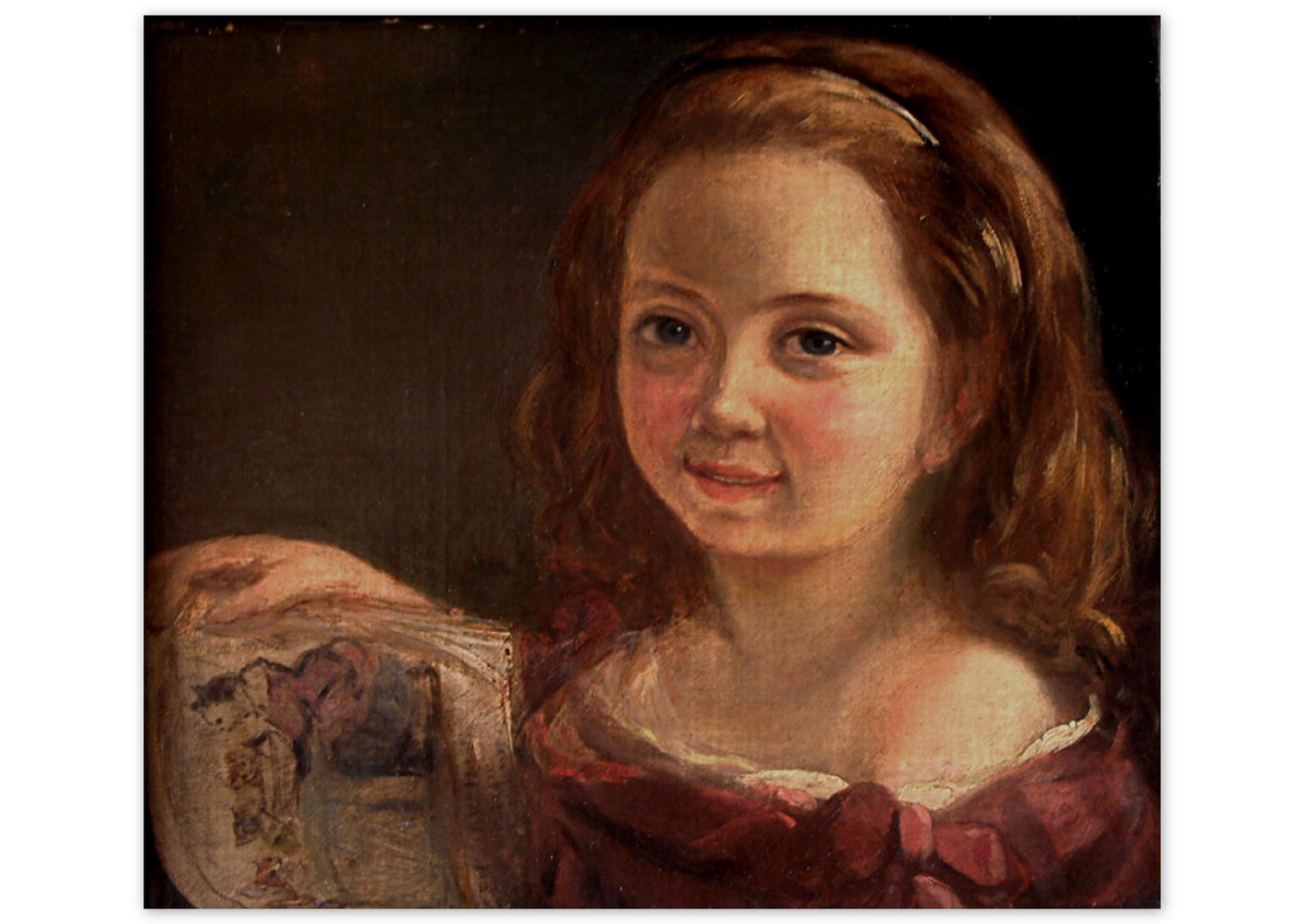 Ada as a child, circa 1822.