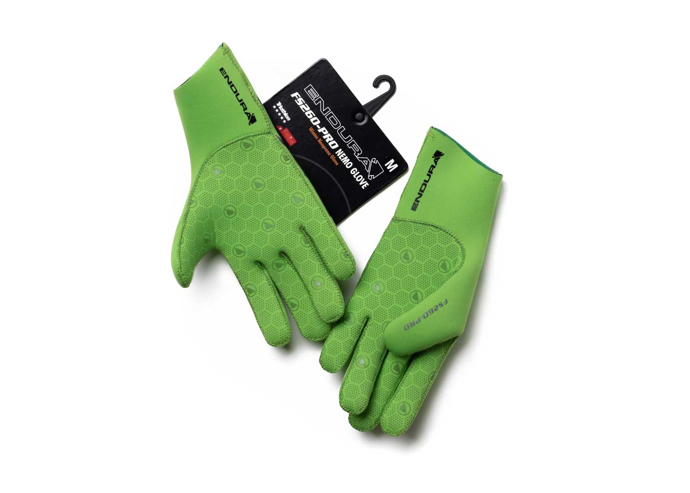 Endura bike gloves.